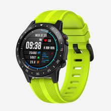 Senbono M5 gpsスポーツスマートウォッチサポートbluetooth通話IP67男性女性時計フィットネストラッカー心拍数モニタースマートウォッチ