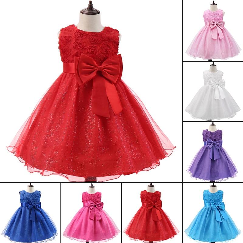 Детский летний костюм; Одежда; Платье принцессы на Хэллоуин с цветочным рисунком для маленьких девочек; Платье-пачка на свадьбу и день рожде...