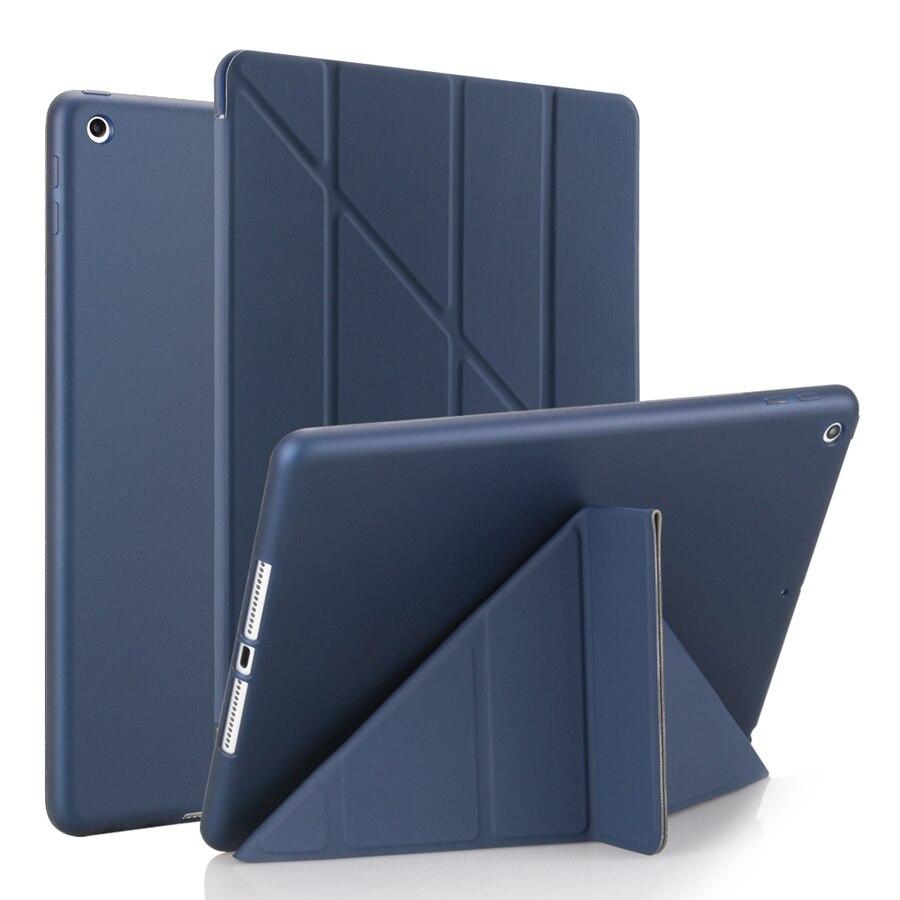 Film--Pen Smart-Stand-Cover 7-7th/A2200/A2198/.. Film--Pen Case iPad Apple Silicon for