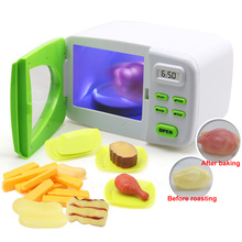 Interest Special Lighting Hand Abilities Microwave Oven Parent-child With Fake Food Role Play Classical Pretend Fun Rotation