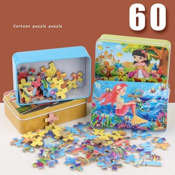 60 Pieces Jigsaw Puzzles Educational Toys Scenery Space Stars Educational Puzzle Toy for Kids/Adults Christmas Halloween Gift 1000 pieces jigsaw puzzles educational toys scenery space stars educational puzzle toy for kids birthday gift stickers