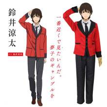 Suzui Ryota Cosplay Anime Kakegurui Character Costume Halloween Costume For Men