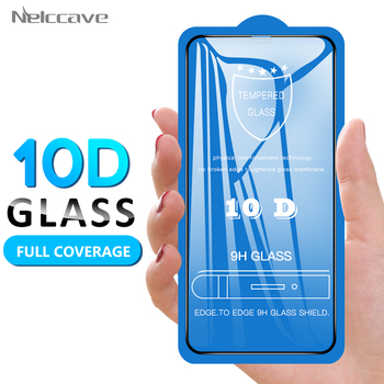 10Pcs 10D Full Coverage Tempered Glass For iPhone 12 Mini 11 Pro XS Max XR X 8 Plus 7 6 6S SE 2020 Cover Screen Protector Film