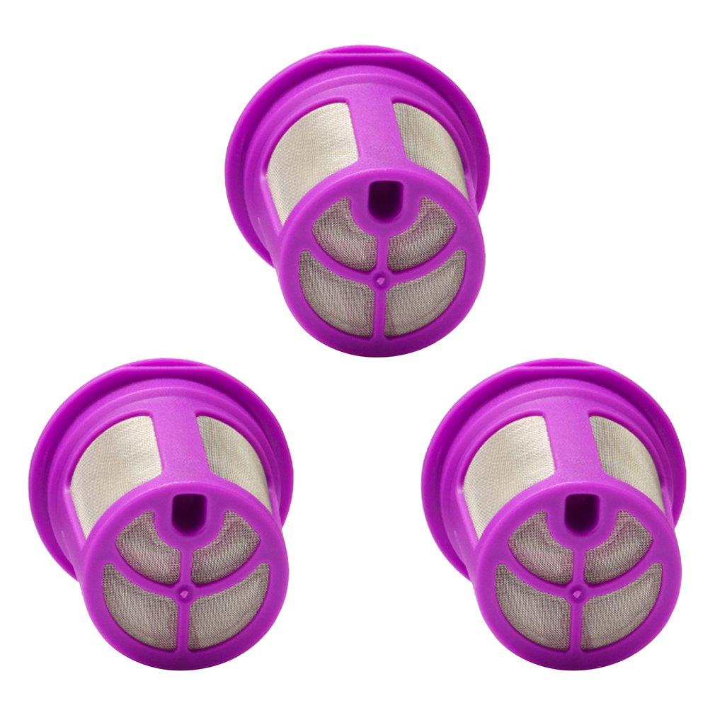3Pcs Refillable Coffee Filter Mesh Capsules K Cup Baskets Reusable Dripper for Keurig 2.0 Coffee Machine Accessories|Café Furniture Sets| |  - title=