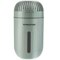 O mini umidificador portátil do usb das ofertas superiores  umidificador ultra sônico da névoa de 310 ml com 7 cores luz da noite  dura até 8 horas para a cama Umidificadores     -