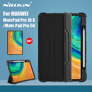 NILLKIN For Huawei Mate Pad Pro Case 10.8 Magnetic PU Leather Flip Cover PC back cover for Huawei MatePad Pro 5G 10.4 Protector(China)