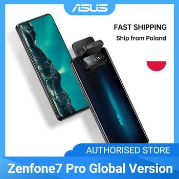 ASUS Zenfone 7/ 7Pro 8GB RAM 128/256GB ROM Snapdragon 865/865Plus 5000mAh NFC Android Q 90Hz 5G Smartphone Global Version Electronics Mobile Phones