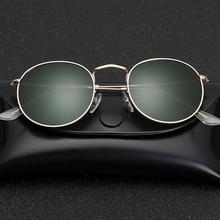 زجاج عدسة صغيرة مستديرة النظارات الشمسية النسائية الرجال الإطار المعدني النظارات الشمسية الرجال النساء السيدات الفاخرة الرجعية القيادة نظارات شمسية gafas
