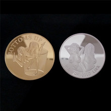 Get more info on the 1PC Medallion Non-currency Bitcoin Coin Collectible Art Collection Gift Physical Commemorative Bit BTC Antique Copy Imitation