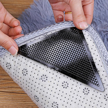Sticker Rug-Gripper Rubber Reusable Carpet-Mat Stopper-Tape Anti-Skid Floor Black Corners-Pad-3