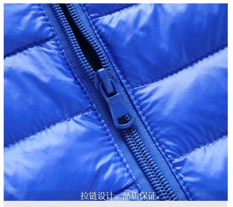 2019 детские зимние куртки пуховик для девочки Осенняя теплая куртка с капюшоном и длинными рукавами для маленьких мальчиков детская парка, верхняя одежда