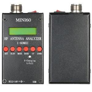 Meter SARK100 Antenna-Analyzer Ham Radio Mini60 New HF for Hobbists Hot 1-60mhz AD9851