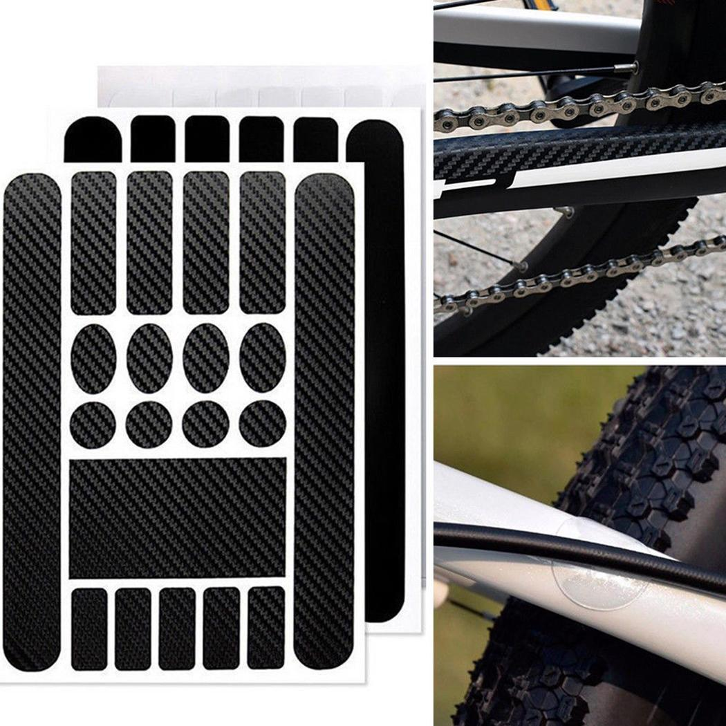 Bike Chain Frame Scratch Protector Bicycle Protective Sticker Outdoors 0.18mm Paster