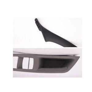 Image 5 - 右手ドライブ rhd bmw 5 セリエ F10 F11 520 525 グレーベージュ黒カーインテリアドアハンドルインナードアパネルプルトリムカバー
