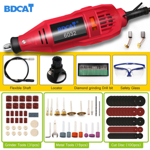 Image 1 - BDCAT 180w Engraving Electric Rotary Tool Variable Speed Mini Drill Grinding Machine with Power Tools Dremel Tool Accessories