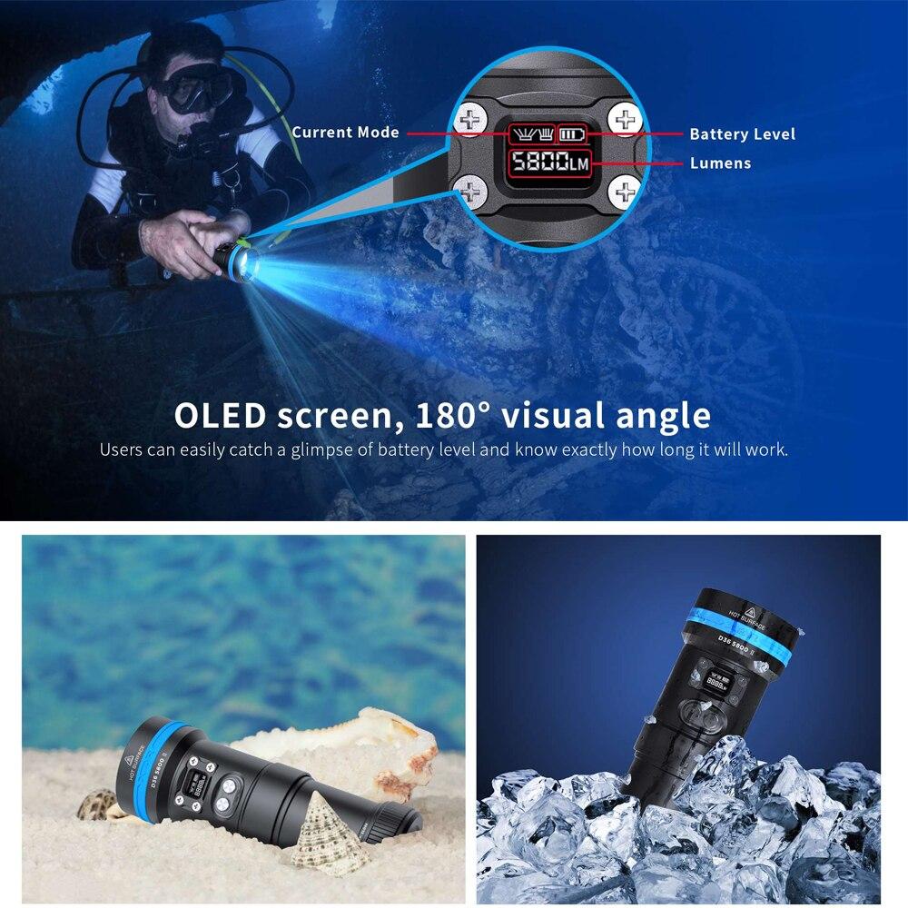 prova d36 agua profissional led scuba diver 02