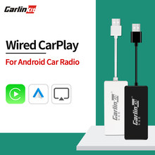 Carlinkit apple carplay android auto carplay dongle para android tela do sistema ligação inteligente suporte mirrorlink ios14 mapa música mini