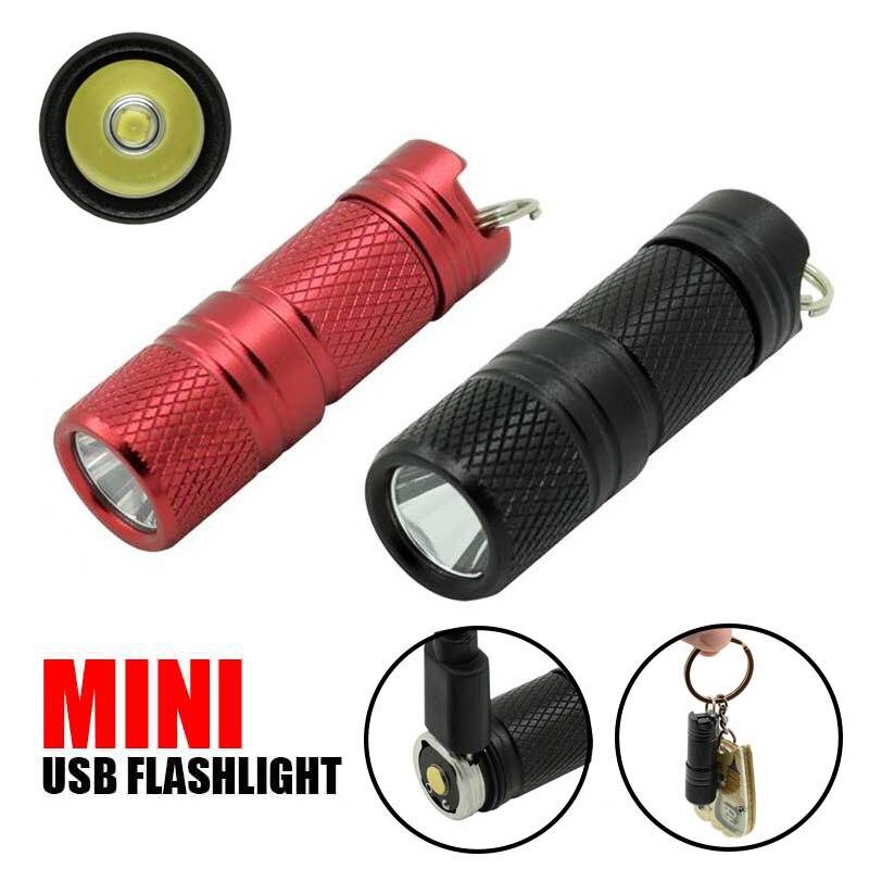 Pocket Mini LED Flashlight Waterproof Keychain Micro Flashlight Electric Torch