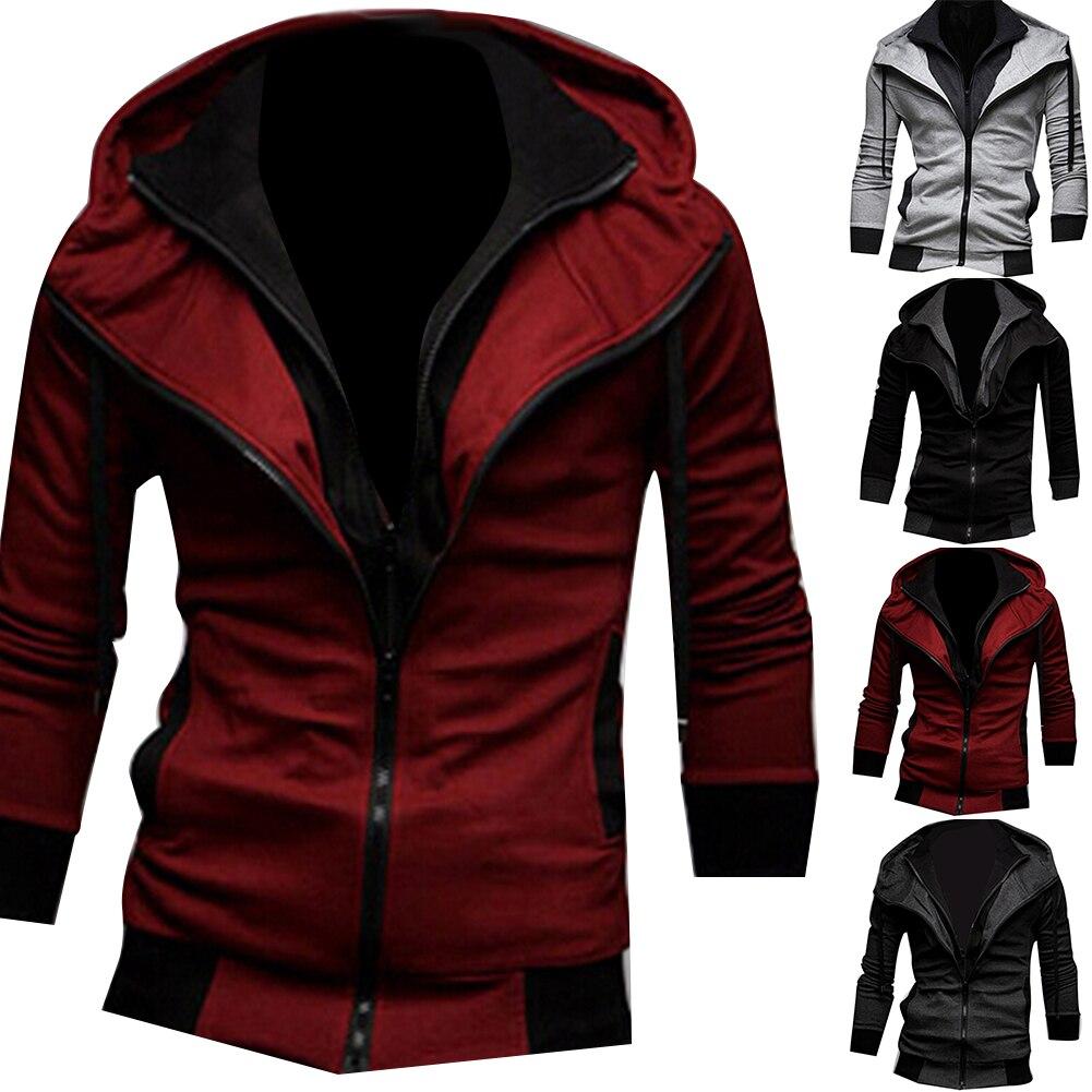 H6c1002cdaea84bb8812e42b4965e389fg Jacket Men Autumn Winter zipper Casual Jackets Windbreaker Men Coat Business veste homme Outdoor stormwear clothing