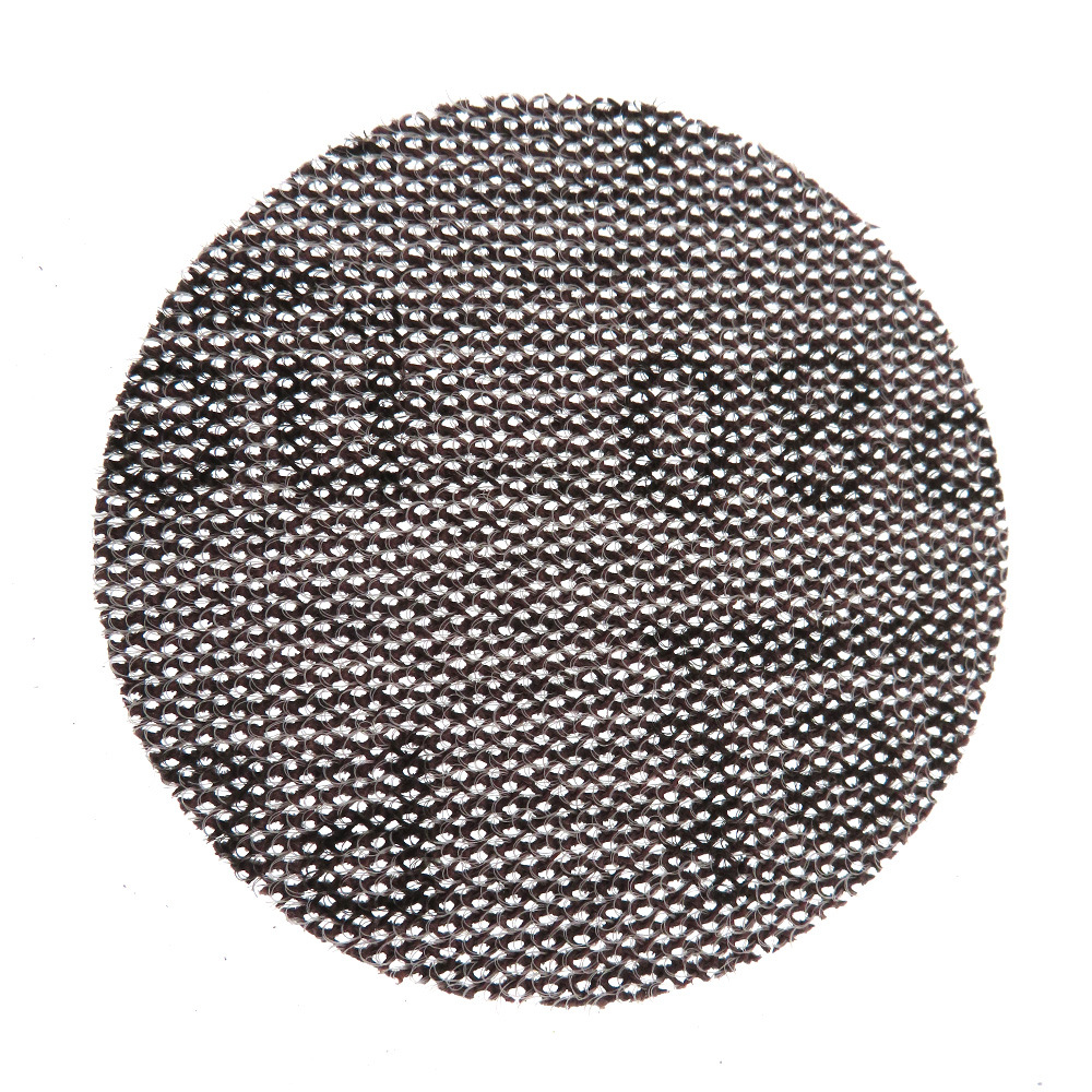 Mocha Mirka 3-Inch 75MM Dust-Free Sanding Screen Woven Nap Flocked Disc Sandpaper Anti-Blocking Type Dry Grinding Sandpaper