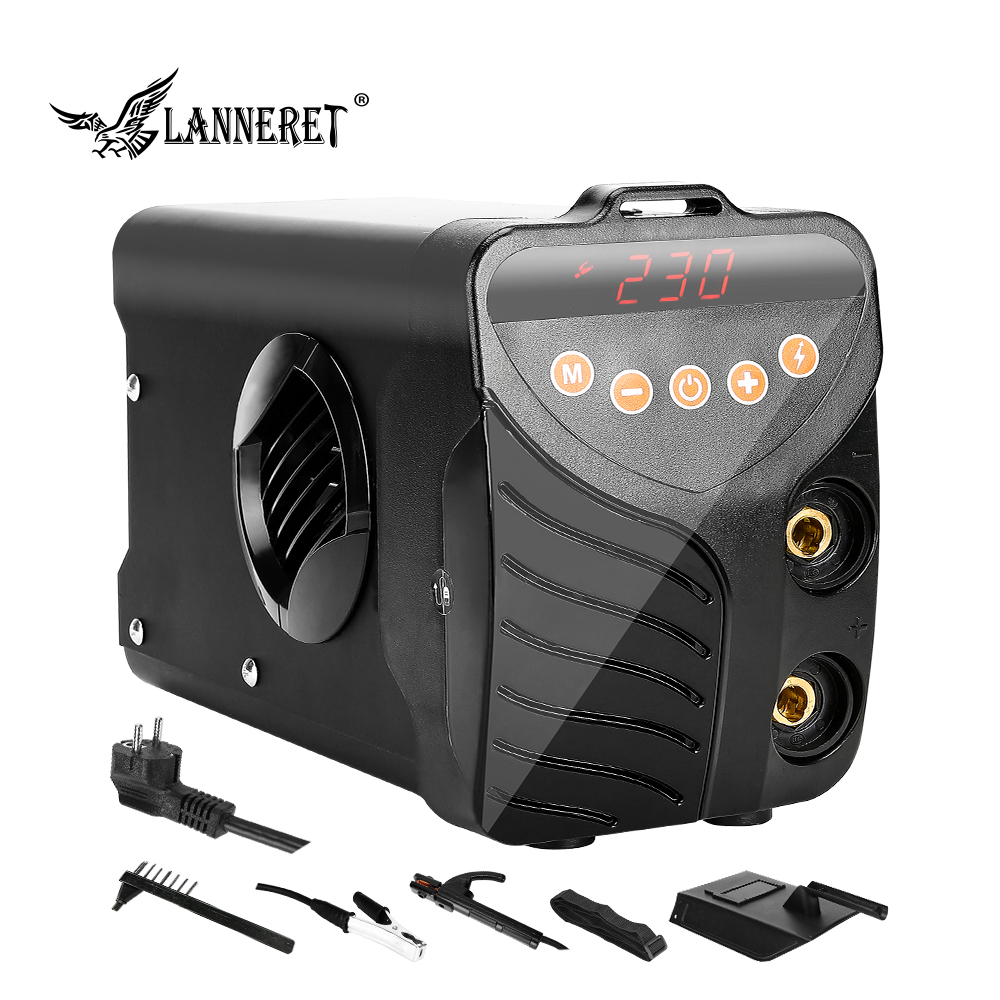 LANNERET AI Inverter Welding Machine Tools <font><b>Arc</b></font> Welders 220V IGBT Series DC <font><b>ARC</b></font> High Efficiency Electric Welder image