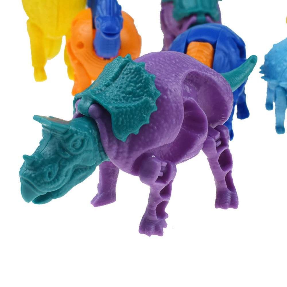 Купить 12 шт/компл деформация динозавр яйцо игрушки животные деформированное