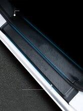 Lsrtw2017 Carbon Faser Auto Tür Aufkleber Schwelle Mat Schutz für Toyota Sienna 2015 2016 2017 2018 2019 2020 Xl30 Auto