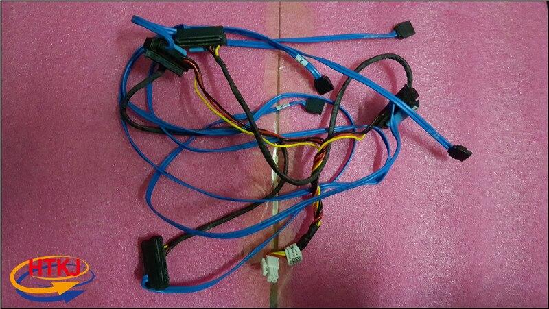 Original pour DELL pour poste de travail T7910 carte mère SATA tableau carte SAS câble d'alimentation cordon D8W7G 0D8W7G entièrement testé