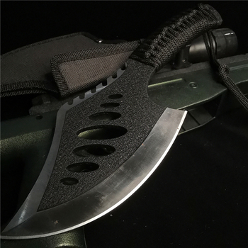 10 62 #8222 cali topór kości maczeta topór gruby odporny na przecięcie ostry nóż ze stali nierdzewnej przygoda przenośny topór tanie i dobre opinie Doom Blade CN (pochodzenie) Maszyny do obróbki drewna 27CM 320G 8CR13MOV STEEL Siekierą głowy STAINLESS STEEL Wielofunkcyjny