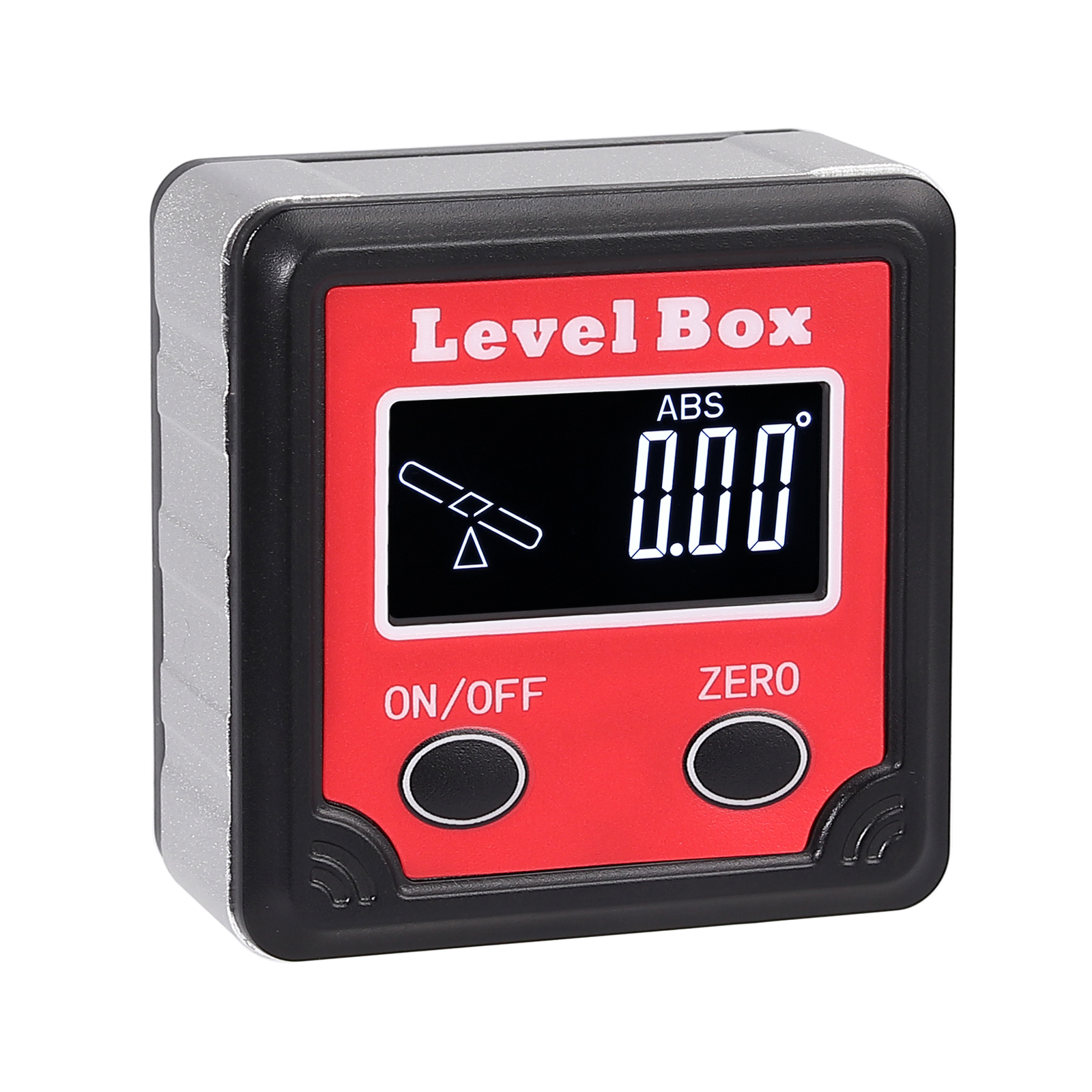 LCD Backlight Inclinometer Level Box Protractor Angle Finder Gauge Meter Bevel