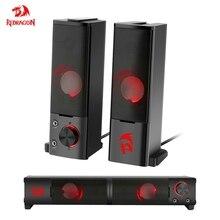 Redragon GS550 aux 3.5mm סטריאו surround מוסיקה חכם רמקולים עמודת קול בר עבור מחשב PC בית נייד טלוויזיה רמקולים