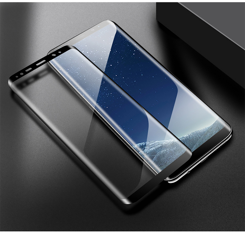 Tempered Glass Film For Samsung Galaxy Note 8 9 S9 S8 Plus S7 Edge Full Curved Screen Protector For Samsung A6 A9 A8 Plus 2018