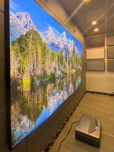FUSTALRH-PT 100'' 120'' 16:9 UST CLR/ALR narrow Frame Projection Screen