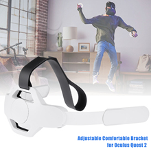 VR Headset Adjustable Comfortable Bracket Wear A Weight Reduction Holder For Oculus Quest 2 For Various Head Shapes
