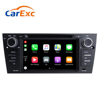 Android 9.0 Autoradio Built-in CarPlay GPS Navigation Compatible With For BMW E90/E91/E92/E93 Old 3 Series Headunit Stereo Radio image