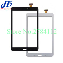 10Pcs untuk Samsung Galaxy Tab E 8.0 T375 T377 T378 T377P T377R T378 Touch Screen Digitizer LCD Panel Luar kaca Sensor + Perekat(China)
