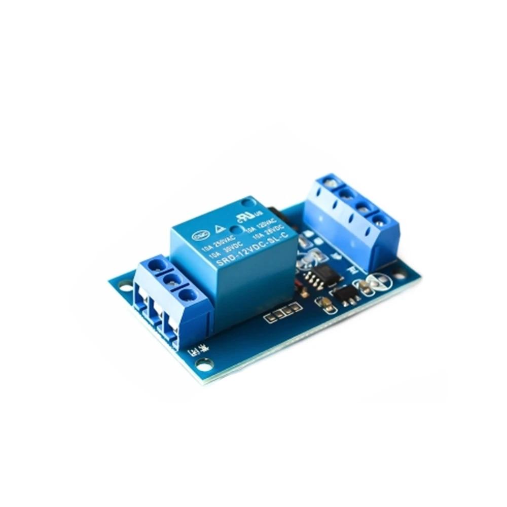 12V Bond Bistable Relay Car Modification Switch Start Stop Self-Locking Module K