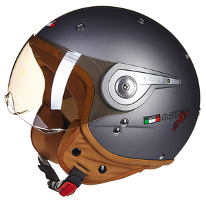 Image 2 - Casco 모토 오토바이 헬멧 3/4 오픈 페이스 스쿠터 Halmet Motocross 빈티지 Casque 모토 Casque Casco Motocicleta Capacete 110A