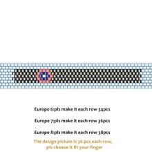 Ring-Kit Miyuki Delica DIY FAIRYWOO Beaded-Rings Gifts Evil Luxury-Accessories Handmade