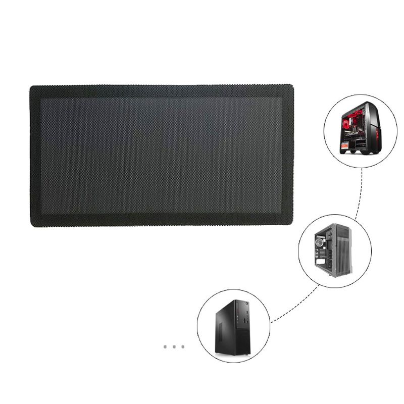 Cover-Guard Computer-Case Chassis Mesh-Net Cooling-Fan-Accessories DUST-FILTER Magnetic