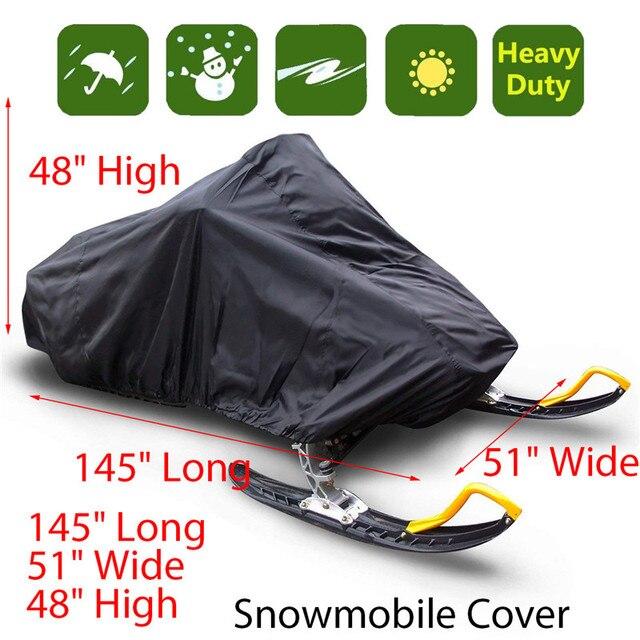 Osłona na skuter śnieżny wodoodporna osłona przeciwpyłowa zakryte przechowywanie anty uv uniwersalna osłona zimowa Motorcyle Outdoor 368x130x121cm