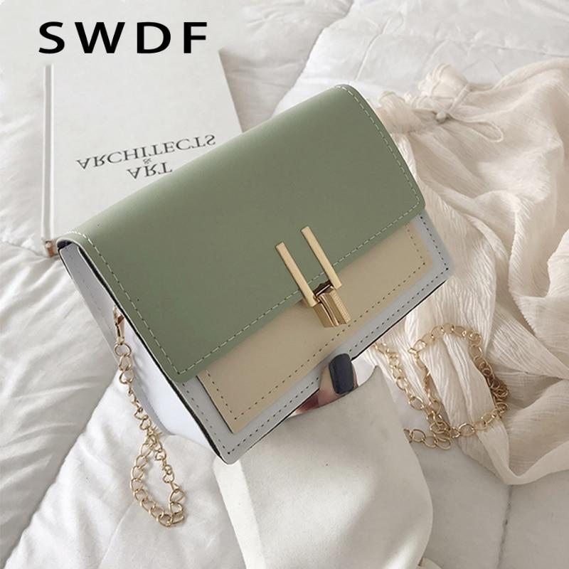 Mini PU Leather Schoulder Bags Woman's Crossbody Tassen Bag Fashion Tas Messenger Portemonnees Female Voor Vrouwen Coins Tote|Top-Handle Bags| |  - title=