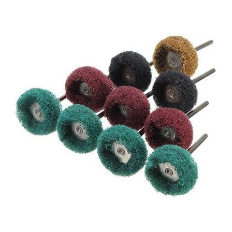 40 piece cabeca de moagem de nailon com alca de fibra cabeca de moagem cabeca
