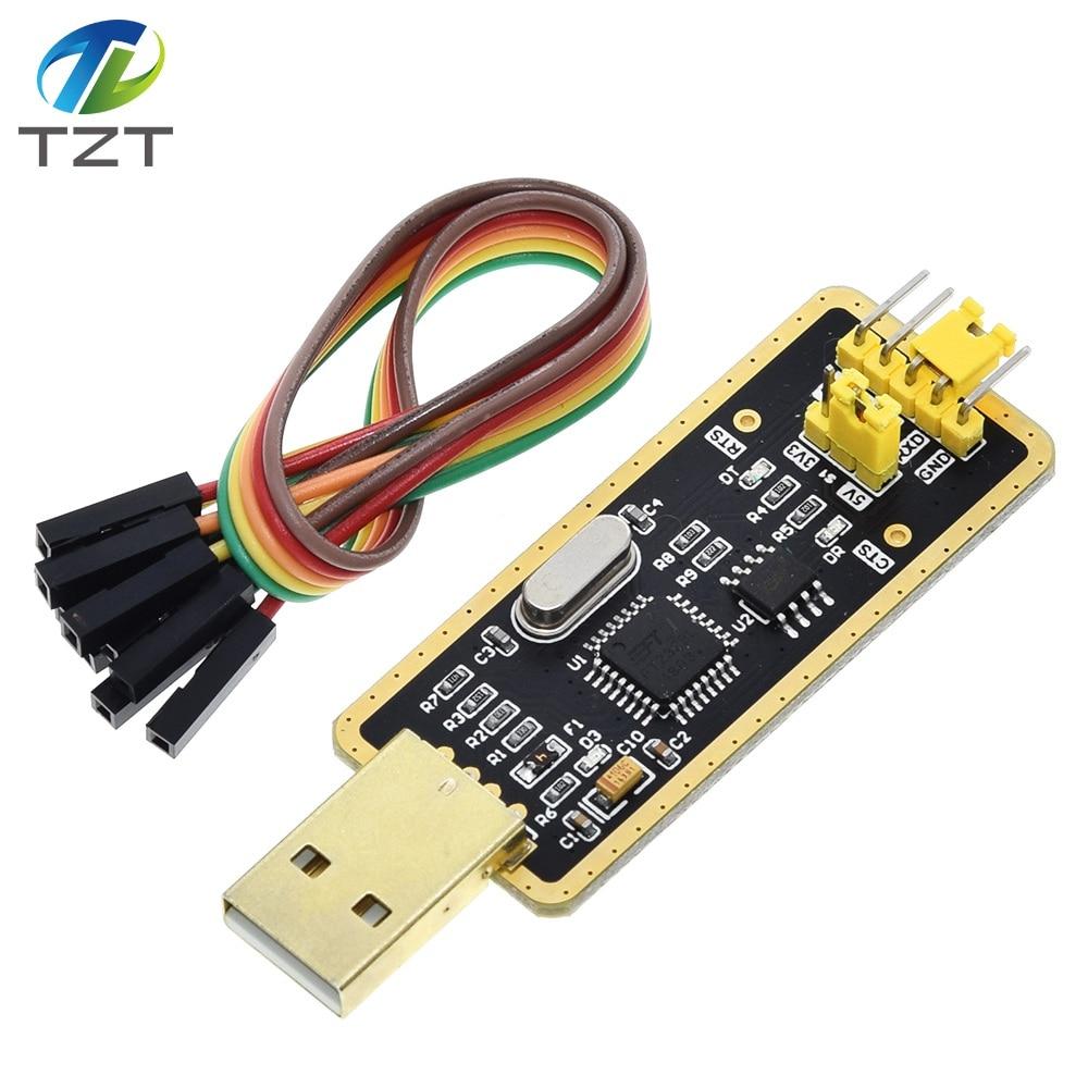 Модуль последовательного адаптера FTDI FT232BL FT232 с USB 2,0 на TTL 5 в 3,3 В с кабелем перемычки для Arduino Suport Win10