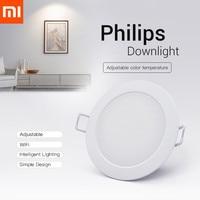 Xiaomi-luz descendente inteligente Philips Zhirui, lámpara de techo de Color ajustable con Control remoto por aplicación, Original, 220V, 3000 - 5700k