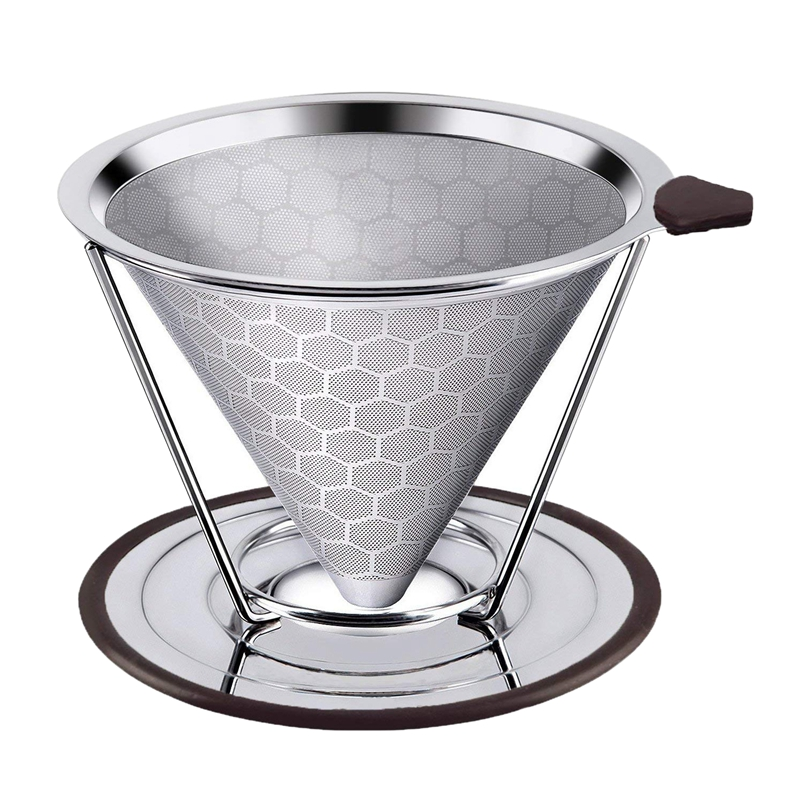 Pour Over Coffee Dripper Stand Drip Station Cone Dripper Stand Coffee Tools