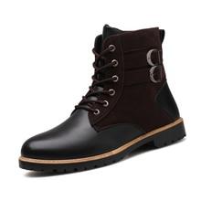 Зимние ботинки мужские тактические ботинки военные ботинки спецназа Мужская Уличная Водонепроницаемая Нескользящая походная обувь для путешествий% L522