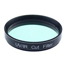 цена на 2inch UV/IR Cut Filter Infra-Red Blocker Telescope Filters for Astronomical Monocular Telescope CCD Digital Astrophotography