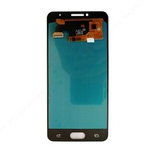 Image 2 - OLED 5.2 لسامسونج غالاكسي C5 C5000 SM C5000 شاشة الكريستال السائل + محول الأرقام بشاشة تعمل بلمس كامل الجمعية ل غالاكسي C5000 LCD