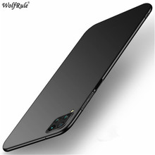 Ultra-Thin PC Case For Huawei P40 Lite P40 Pro Cover Shockproof Protective Back Phone Bumper For Huawei P40 Lite E Case Funda ultra thin glow in the dark patterned protective pc back case cover for ipod touch 5 multicolored